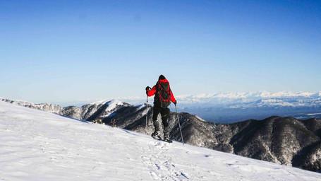 Winter hiking trails in Georgia, Caucasus