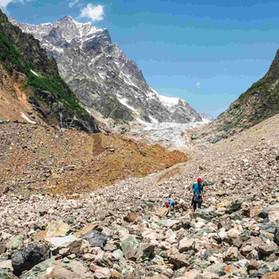 chalaadi glacier mestia svaneti hiking c