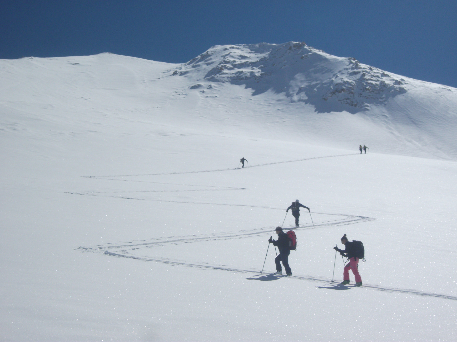 Ski touring Cappadocia Camp Caucasus (20