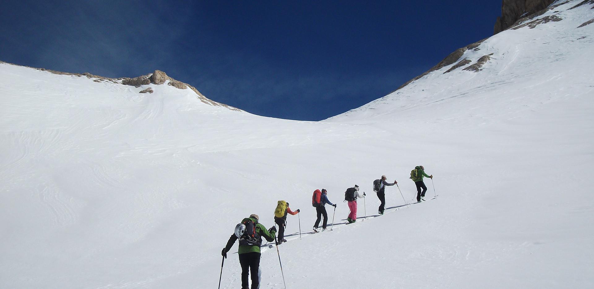 Ski touring Cappadocia Camp Caucasus (30