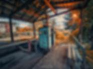 Chiatura tour Urbex Cable car abandoned