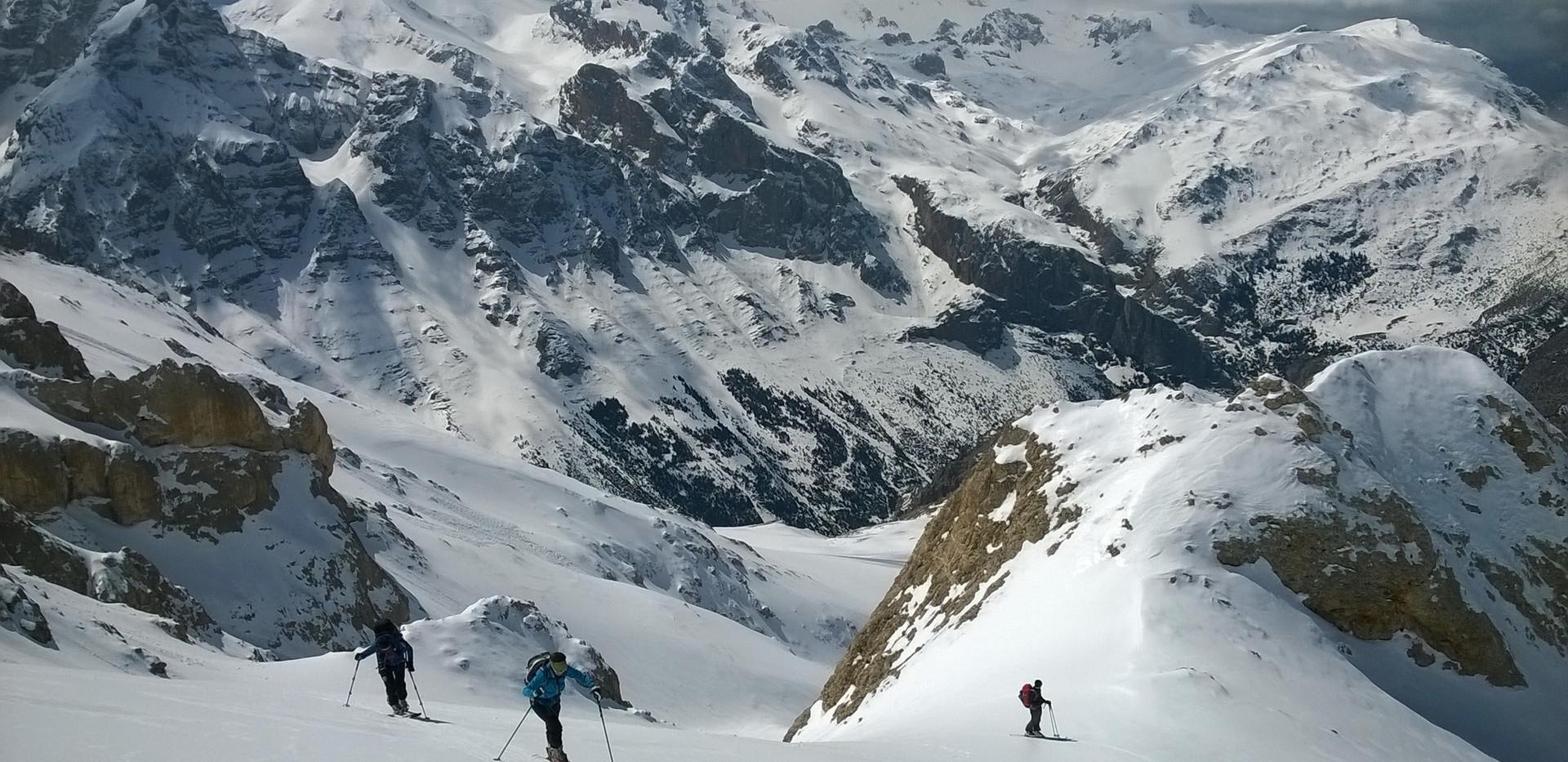 Ski touring Cappadocia Camp Caucasus (51