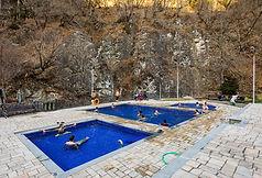 Hiking tour Borjomi sulfur pools Georgia