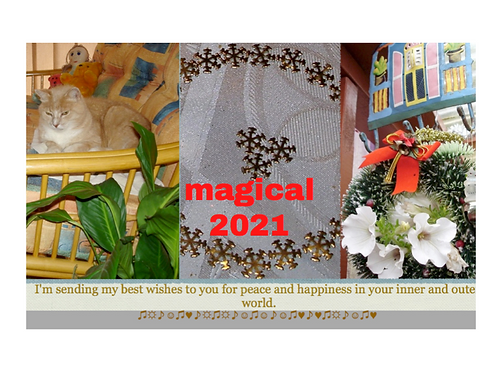 "Christmas Card ""Magical 2021"""