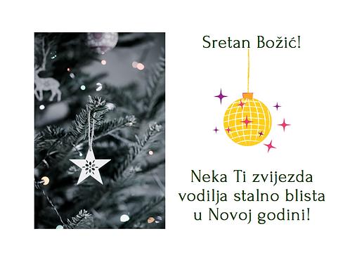 """Čestitka """"Zvijezda vodilja"""""""