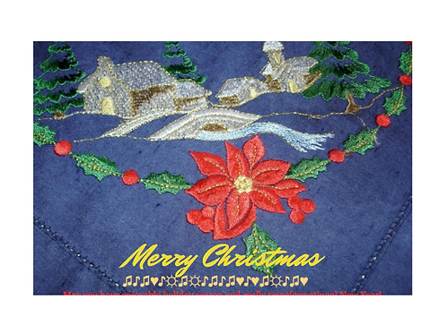 """Christmas Card """"Merry Christmas"""""""