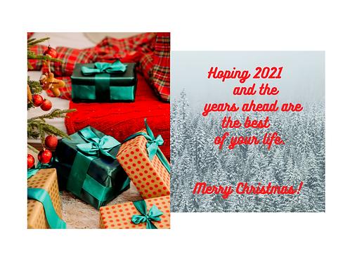 "Christmas Card ""Best Years 1"""