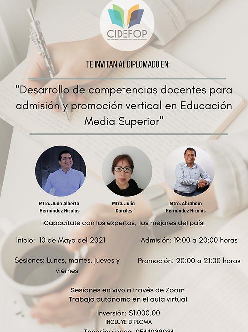 Desarrollo de Competencias para la Promoción Vertical en Educación Media Sup.