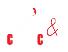 лого coverClub белый с красным на прозра