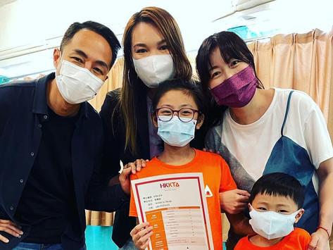 【#HKKTA家長分享】✨星級家長✨  Cathy Cheng 鄭文的分享