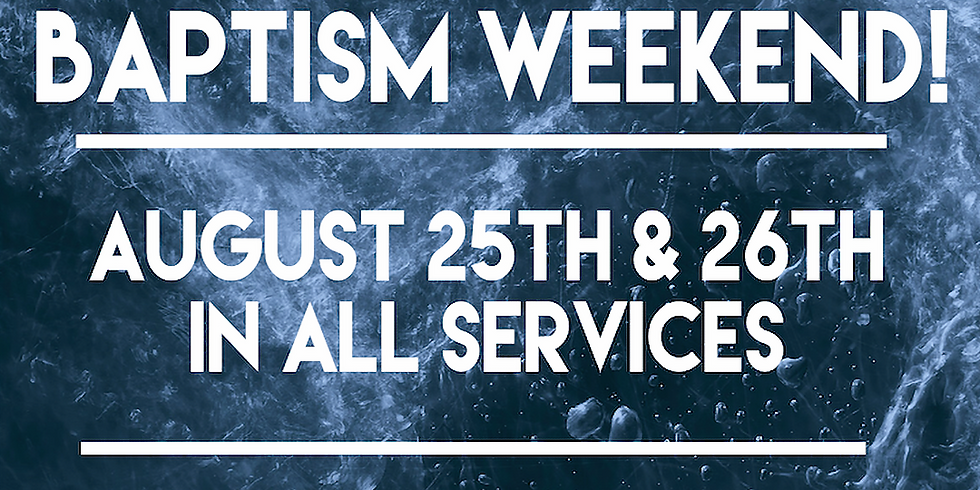 Baptism Weekend (1)