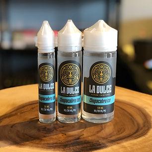 la dulce vapor lab chupacabra ice e-liquid
