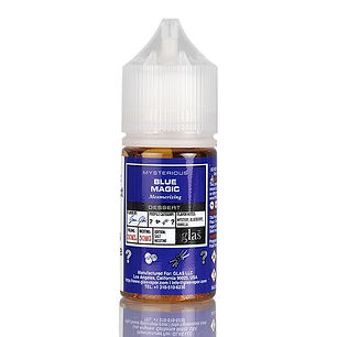 glas blue magic nic salt e-liquid