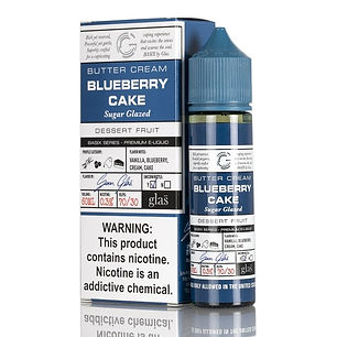 glas blueberry cake e-liquid