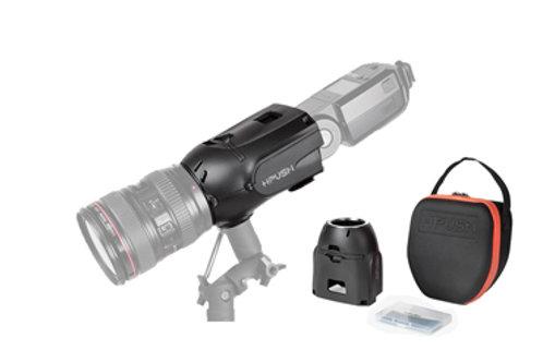 Studio Flash Speedlite Light Blaster Background