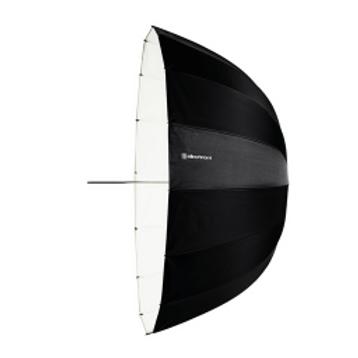 "Umbrella Deep White 125 cm (49"") 26357"