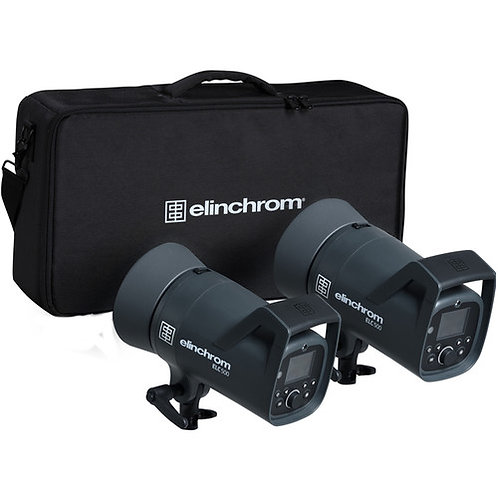 Elinchrom ELC 500 Dual Studio Monolight Kit 20737.2