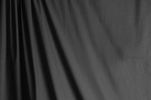 Solid Colored Muslin Grey 3x6 Meter