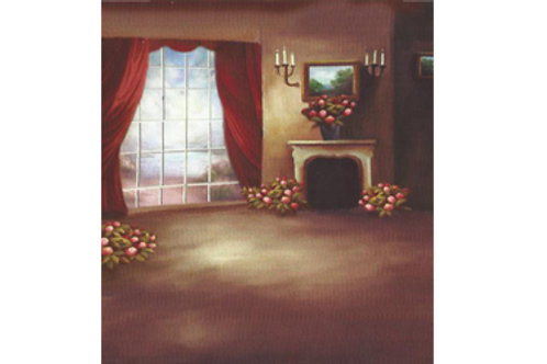 Hand Painted Backdrops KM330B