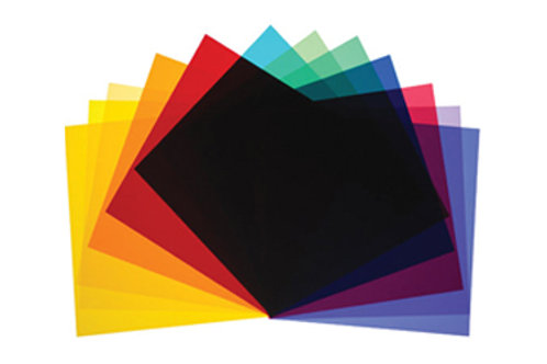 Broncolor Color Filters for P65, 45 Reflectors