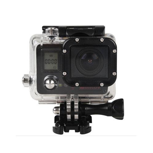 AMKOV Wifi Sports Action Camera 4K 20 MP (Black)