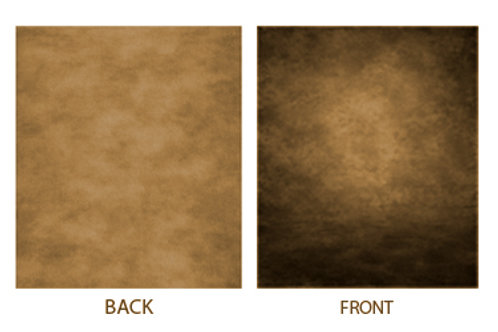 Patchy Background Brown 3x6 Meter