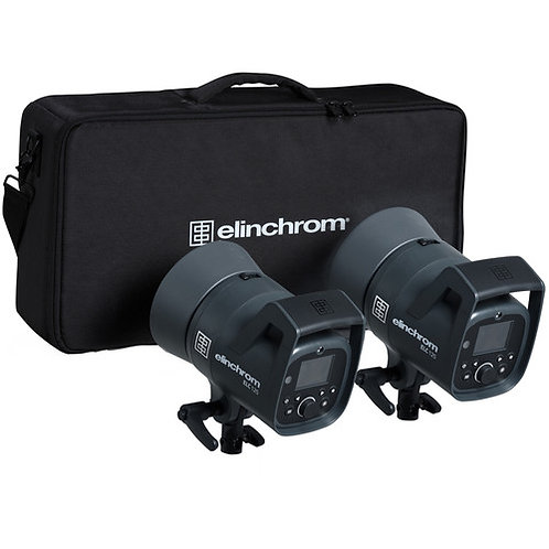 Elinchrom ELC 125 Dual Studio Monolight Kit 20736.2