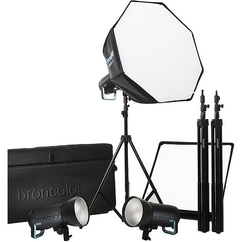 Broncolor Siros 800 S Pro 3-Light Kit 31.695.00