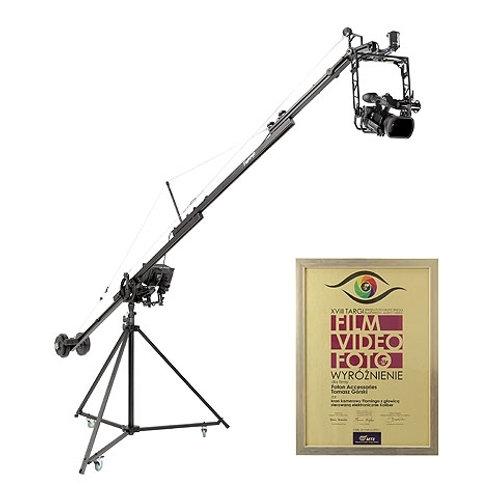 Professional Video Crane Flamingo with Koliber Pan/Tilt Head Set