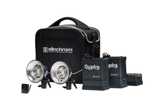 Elinchrom Ranger Quadra Hybrid A Flash Twin Set