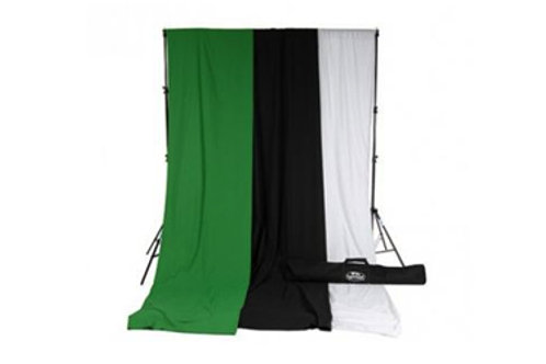 Muslin Solid Colored Backdrops Kit