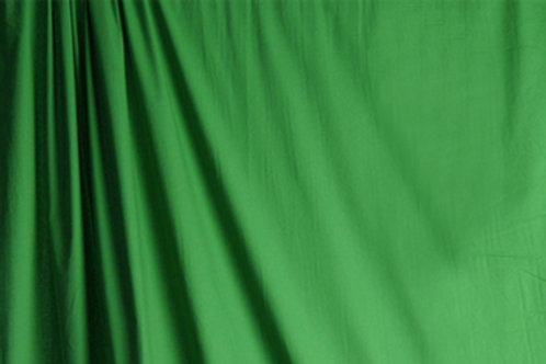 Solid Colored Muslin Green 3x6 Meter