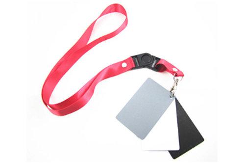 Mini 3 in1 White Balance Card