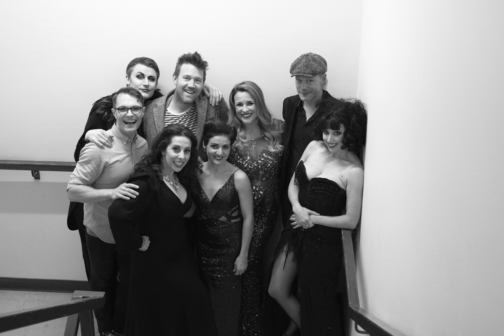 The cast of BREL