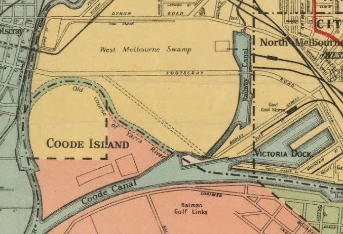 Map - West Melbourne