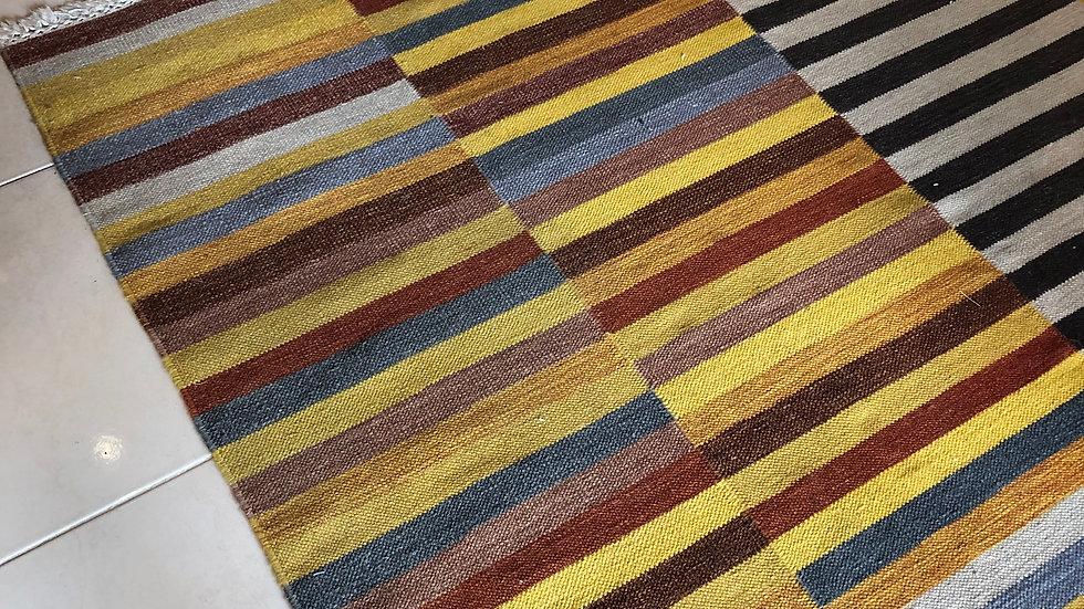 Jaipur Kilim Flat Weave Multi Coloured  - VINTAGE