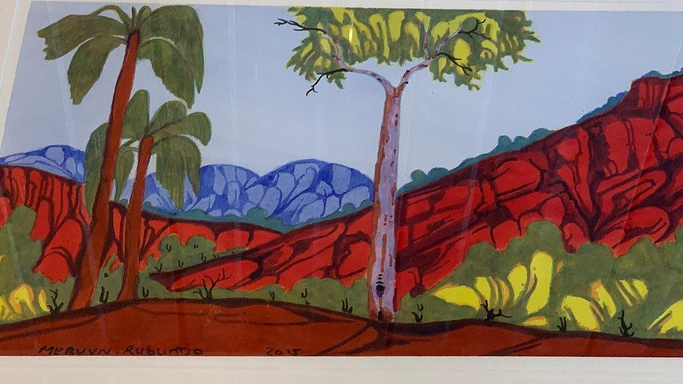 Mervyn Rubuntja 'Palm Valley NT'