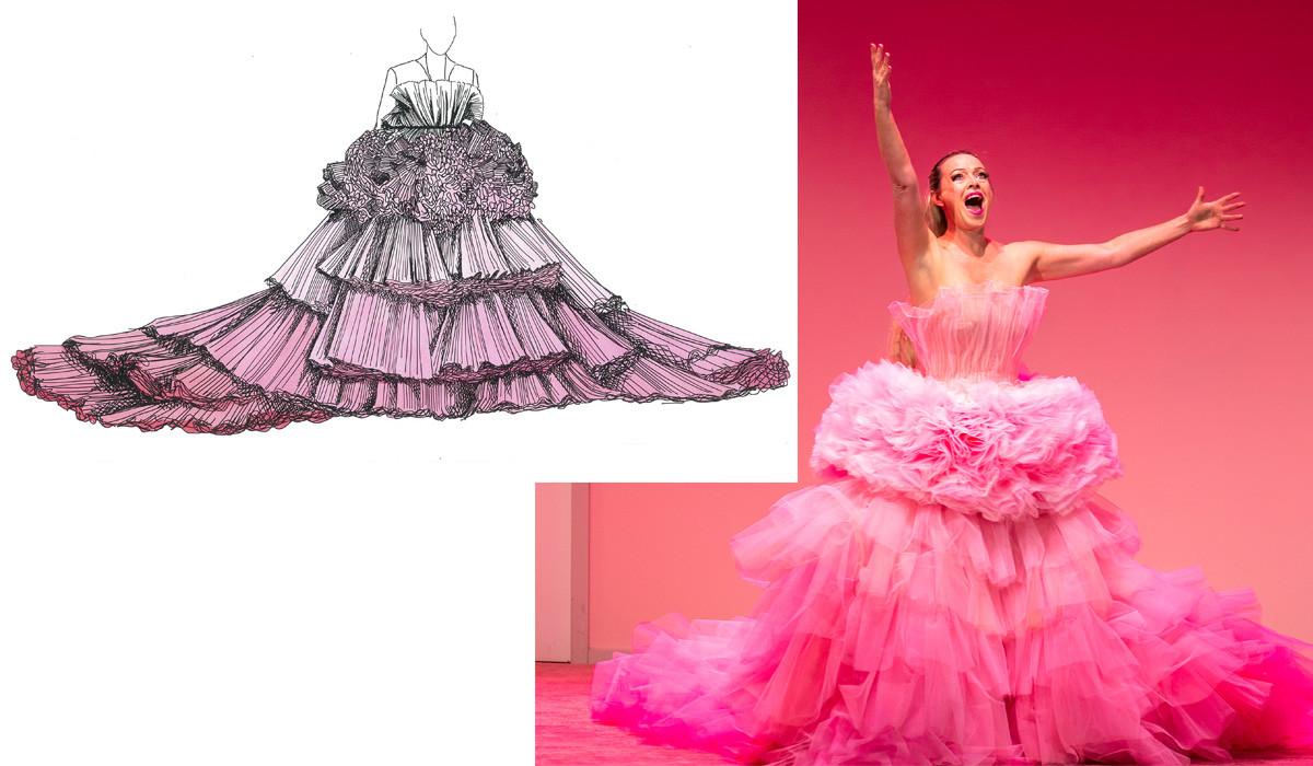 Victorian Opera 2018 Lorelei Costumes Deisgn Marg Horwell