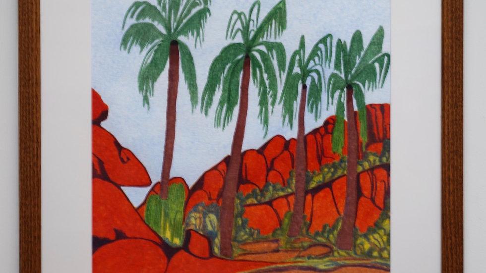 Mervyn Rubuntja - Palm Valley NT