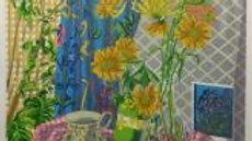 Chrysanthemum & Pink Gingham - GRAHAM MARCHANT