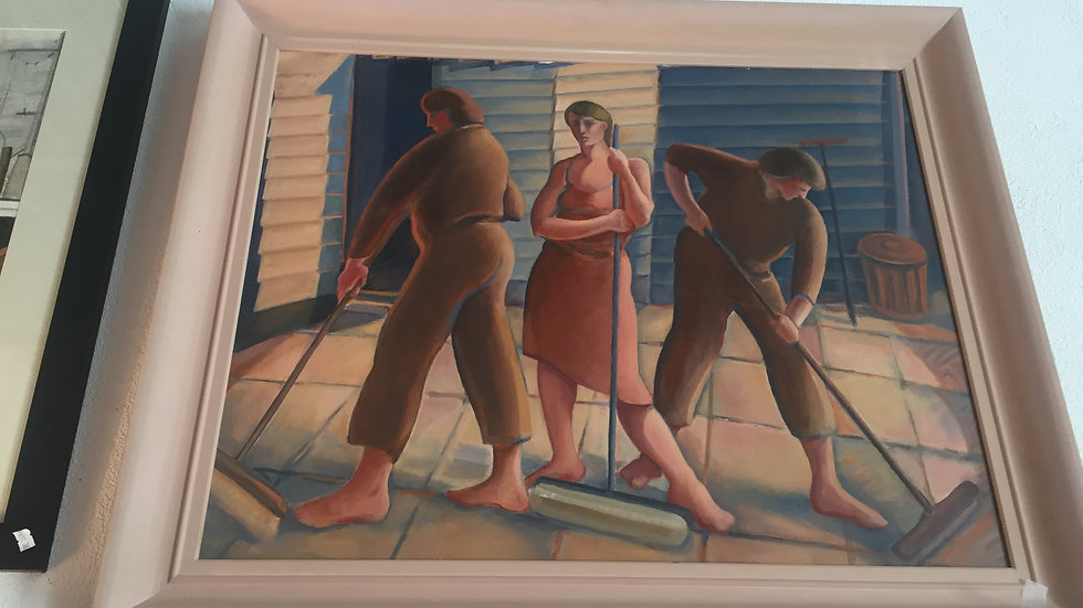 Joh Hannan 'The Sweepers' 1997