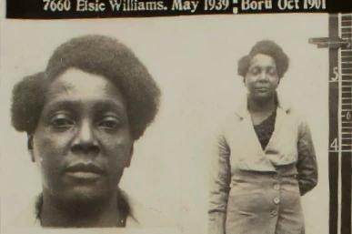 Elsie Williams Mug Shot