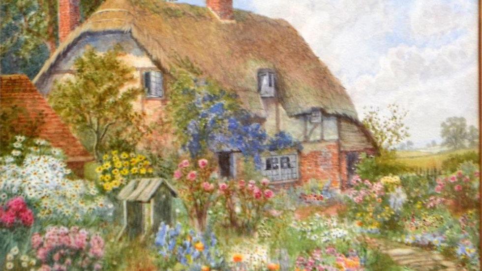 Cottage Garden - ARTHUR STANLEY WILKINSON