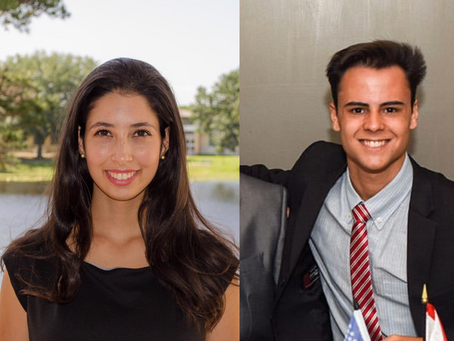 BRAZILIAN STUDENTS AT USF RECEIVE PRESTIGIOUS LEADERSHIP RECOGNITION
