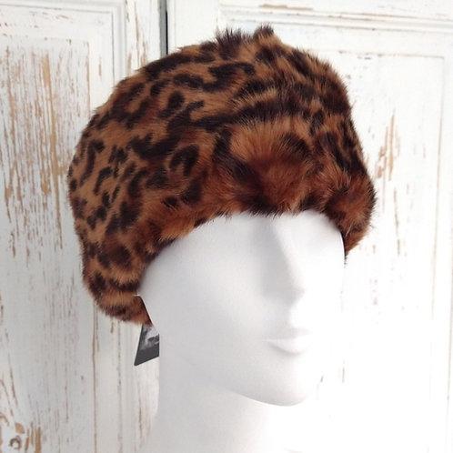 Feux Fur Cheetah Headband.