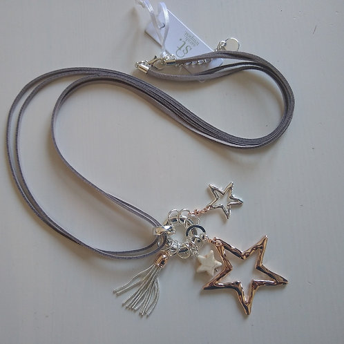 Star Charm Long Necklace