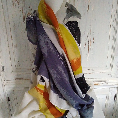 Mix Pattern 100% cotton scarf