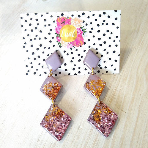 Luel Long Sparkle Earrings