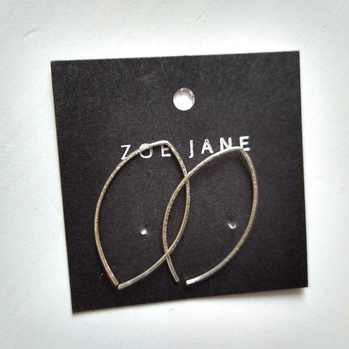 Mini Silver Hoop Earrings