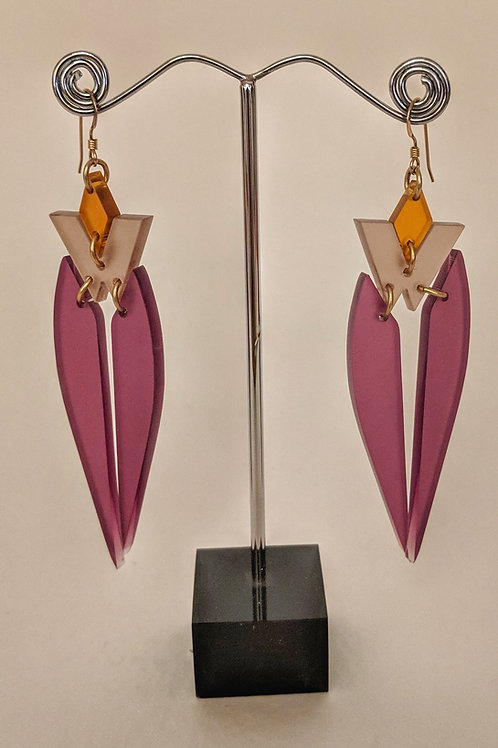 Toolally Kingfisher Earrings